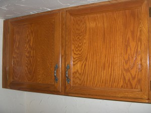 Cabinetry with multiple coats of Sikkens Door and Window