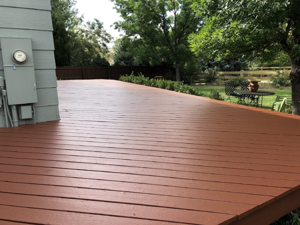Deck Painting Tips For Wood Decks Eco Paint Inc