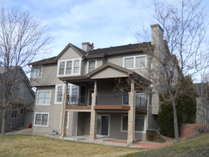 Work of residential painters in Aurora, CO.