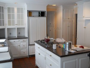Painting Kitchen Cabinets White in Denver, CO.