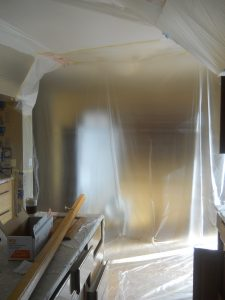 Masking_Kitchen_Cabinets_Painting_Highlands_Ranch_Eco_Paint_2017