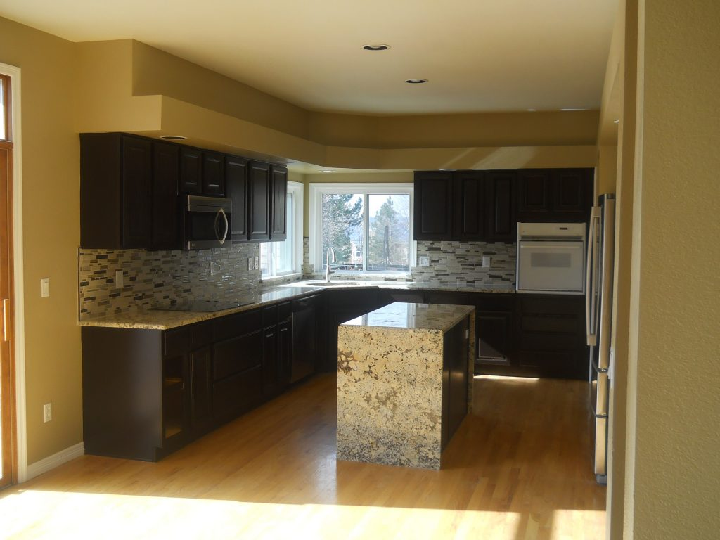 Spray Painting Kitchen Cabinets Best Way Eco Paint Inc