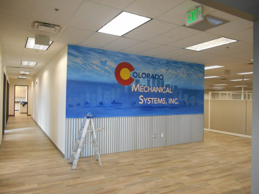 Commercial Painting Offices in Centennial, CO.