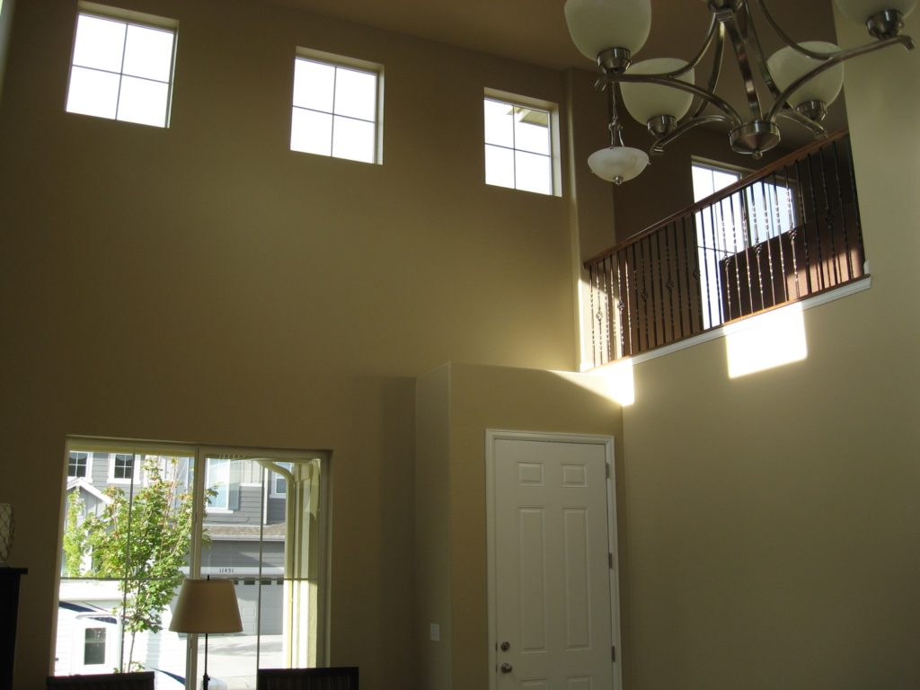 How to paint ceiling without paint on walls eco paint inc for How much to paint a ceiling
