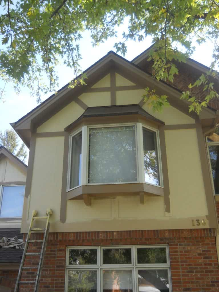 Cost to paint exterior trim important tips eco paint inc for Cost to have a house painted