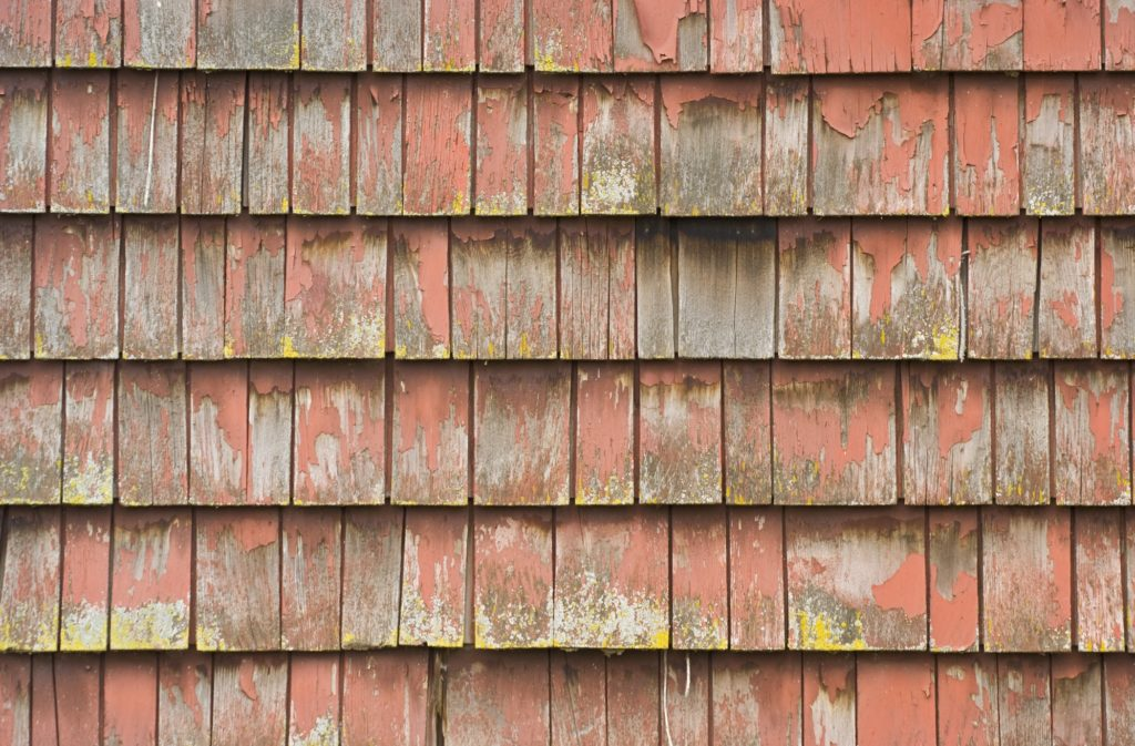 What To Know Painting Repainting Old Cedar Shingles Eco