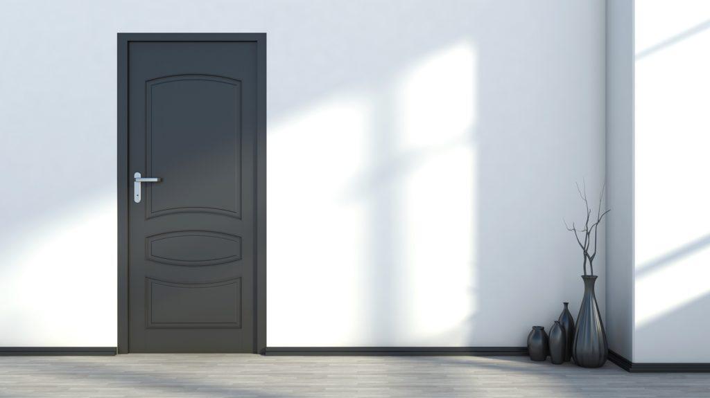 Black_door_trim_with_white_walls