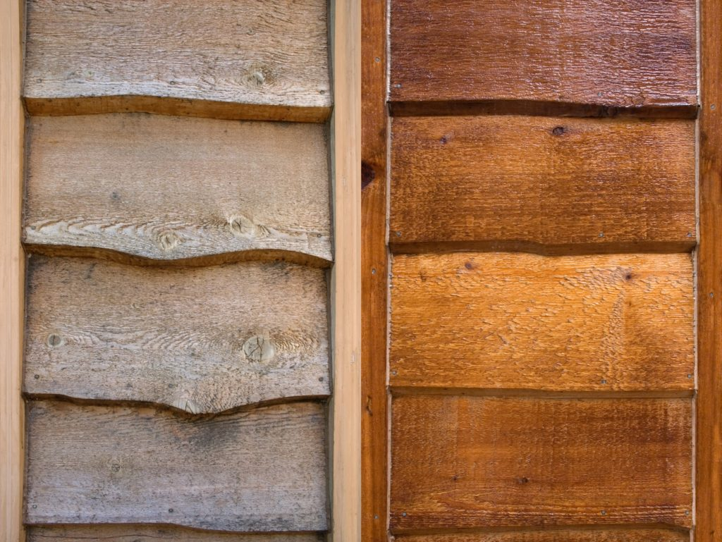 Paint Vs Stain On Cedar Siding For Home Eco Paint Inc