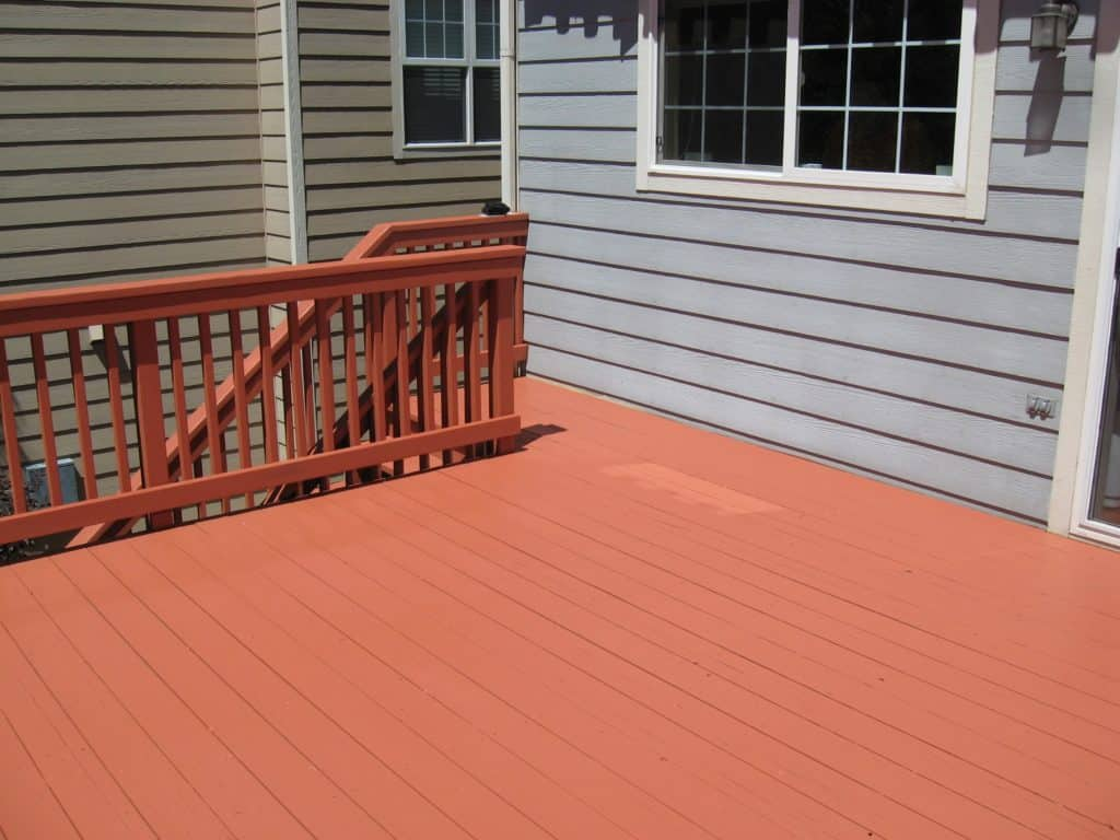 How To Repaint A Deck Without Stripping