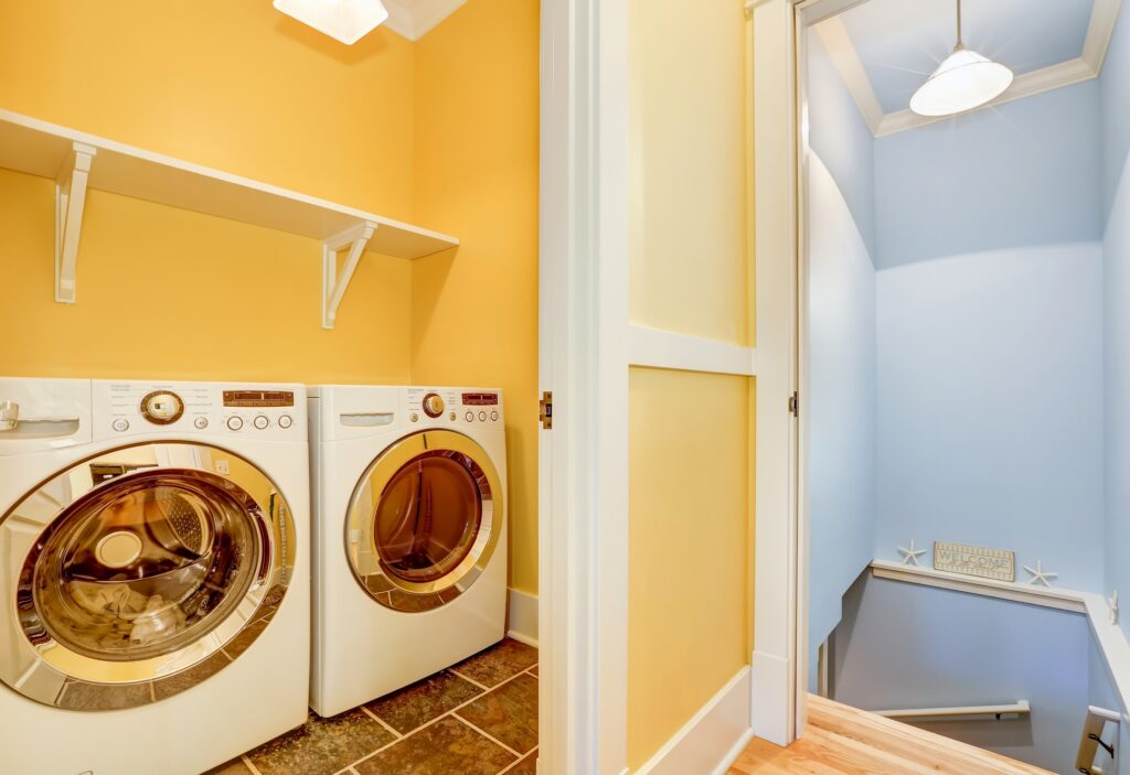 Best_Small_Laundry_Room_Paint_Finishes